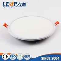 3 Inch 8W Super Thin Round Embedded Led Panel Light Driver In A Box(White Side Light-Emitting)