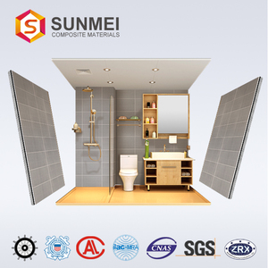 Prefabricated Bathroom Prefab Modular Bathroom Shower Pod with Toilets for mobile house