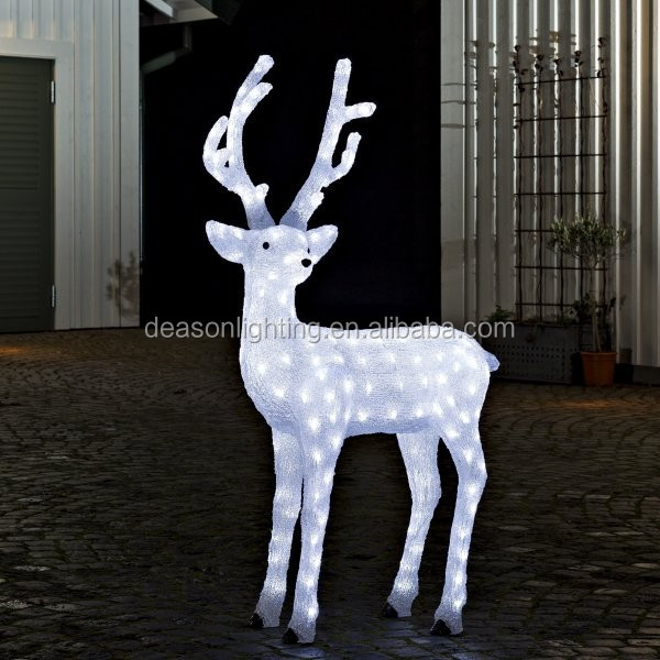 outdoor lighted dog christmas decorations