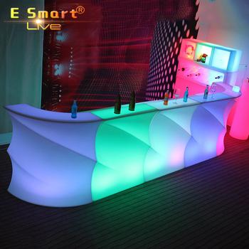led verlichting meubels led snake barled bar tafel