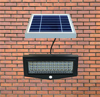 Decorative Solar Led House Number Wall Light For Garden