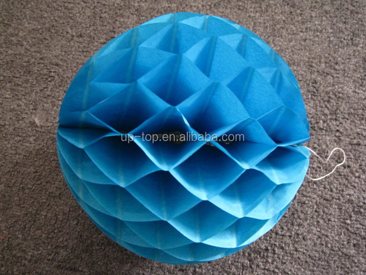 Chinese brand hot sell wedding decoration paper honeycomb fan