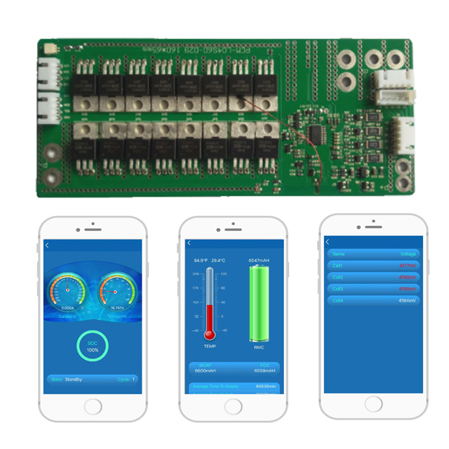 Smart Battery Bms,Pcm 12v 60a With Bluetooth,Rs232,Rs485 Port - Buy Smart  Battery Bms With Bluetooth,Rs232 Battery Bms,Rs485 Smart Bms Product on