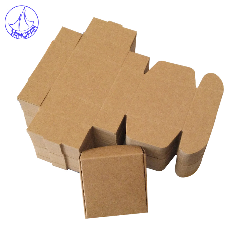 7x7x3cm Aircraft Cardboard Pack Boxes 30Pcs/lot Small  Kraft Paper Boxes Craftwork Gift Fastener Ear Rings Packaging  PB#2044