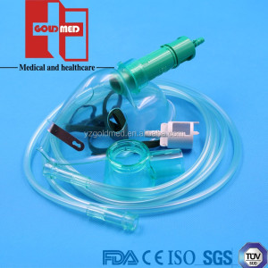 Hot Sale Disposable Adjustable Venturi Mask With Nebulizer Kit(GAVM-1014)