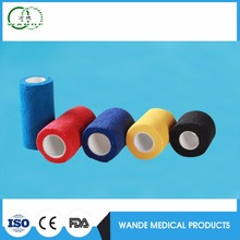 Ce approved alibaba china sports care Latex Free Nonwoven Self Adhesive Bandage