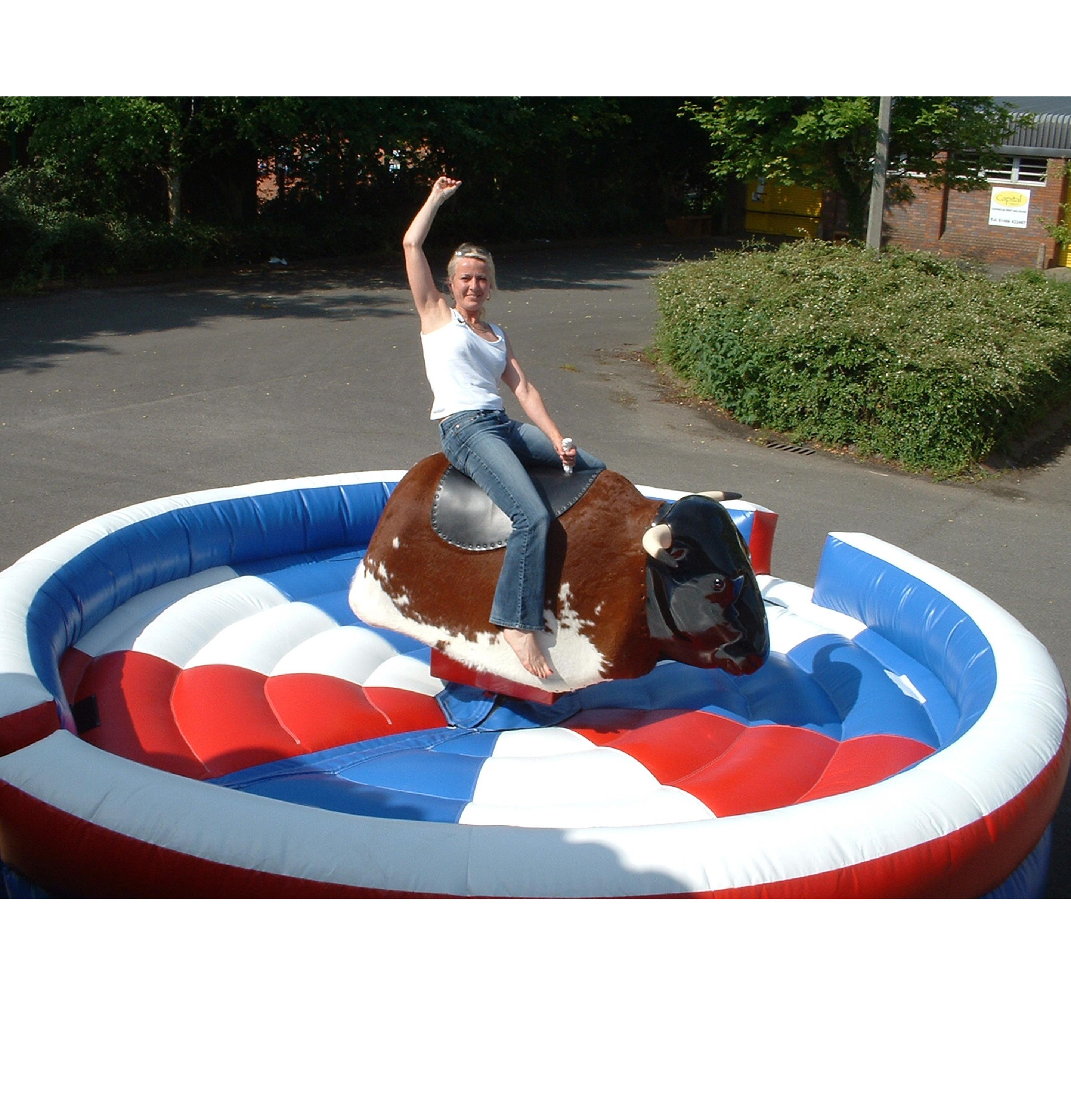 Inflatable Mechanical Bull Riding Toys For Sale Pvc