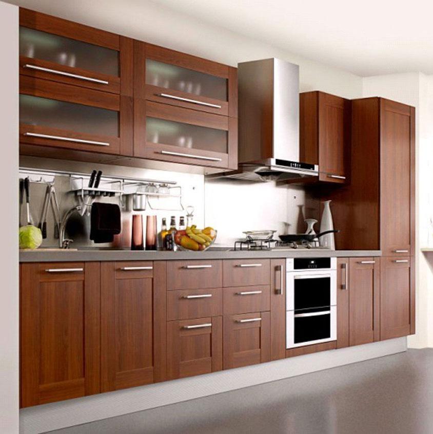 Projet Americain Design Moderne Armoires De Cuisine Ensemble En