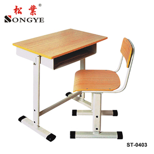 student single wood school desk and chair parts for sale