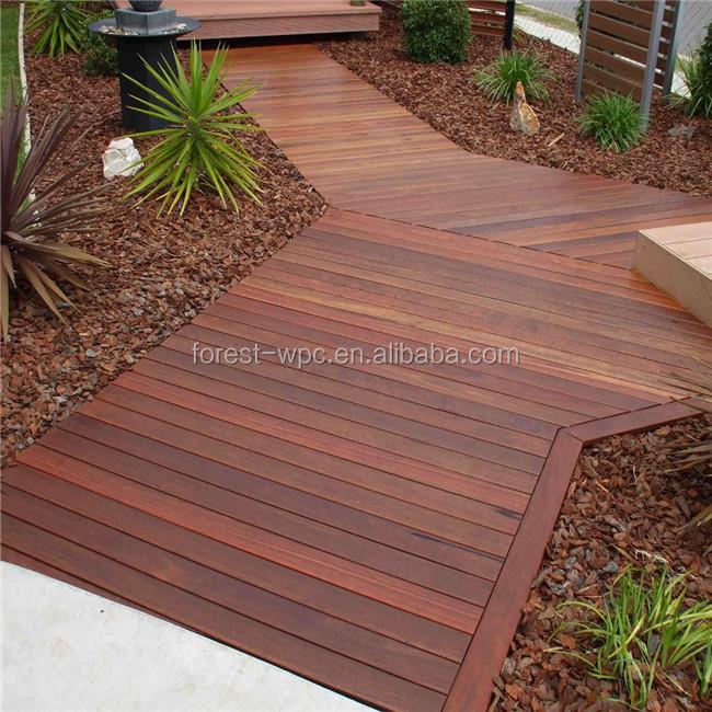 Wood Plastic Composite Decking Planks
