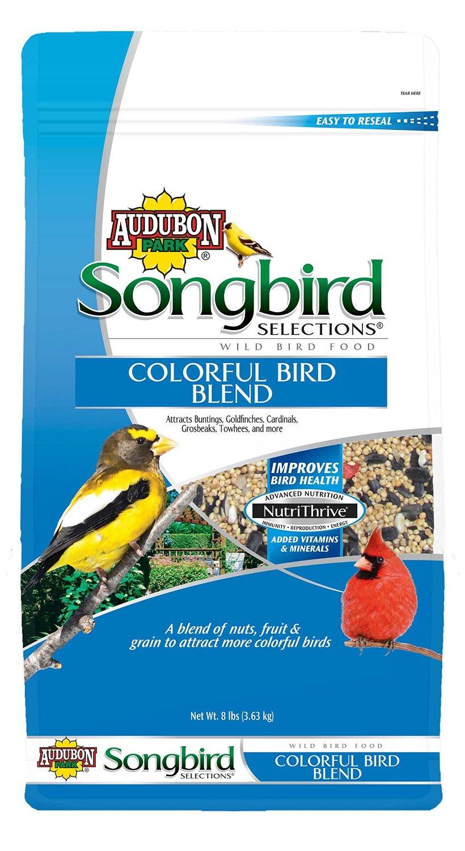 Songbird Selections 11971 Colorful Bird Wild Bird Food Blend, 8-Pound