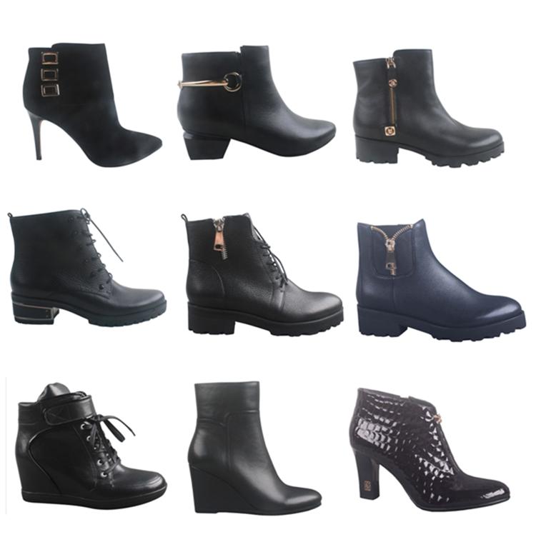 2016 latest ladies fancy winter footwear ankle boots for women ...