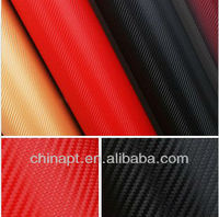3D carbon fiber vinyl roll With air channel