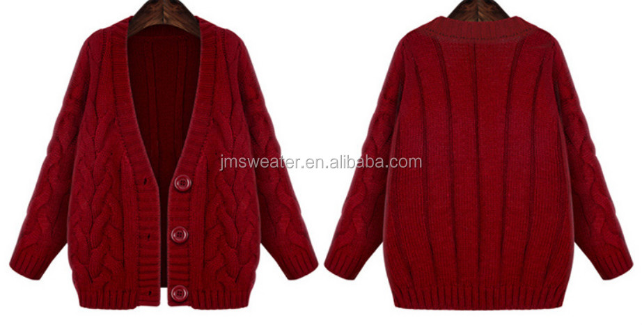 Cardigan Women Sweater Wool Handmade Sweater Design For Girl