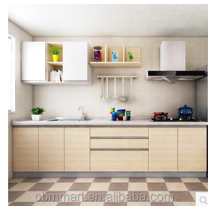 One Stop Solution Building Material Of Small Kitchen Cabinet With