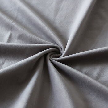 high quality by the yard furniture material used velvet grey fabric