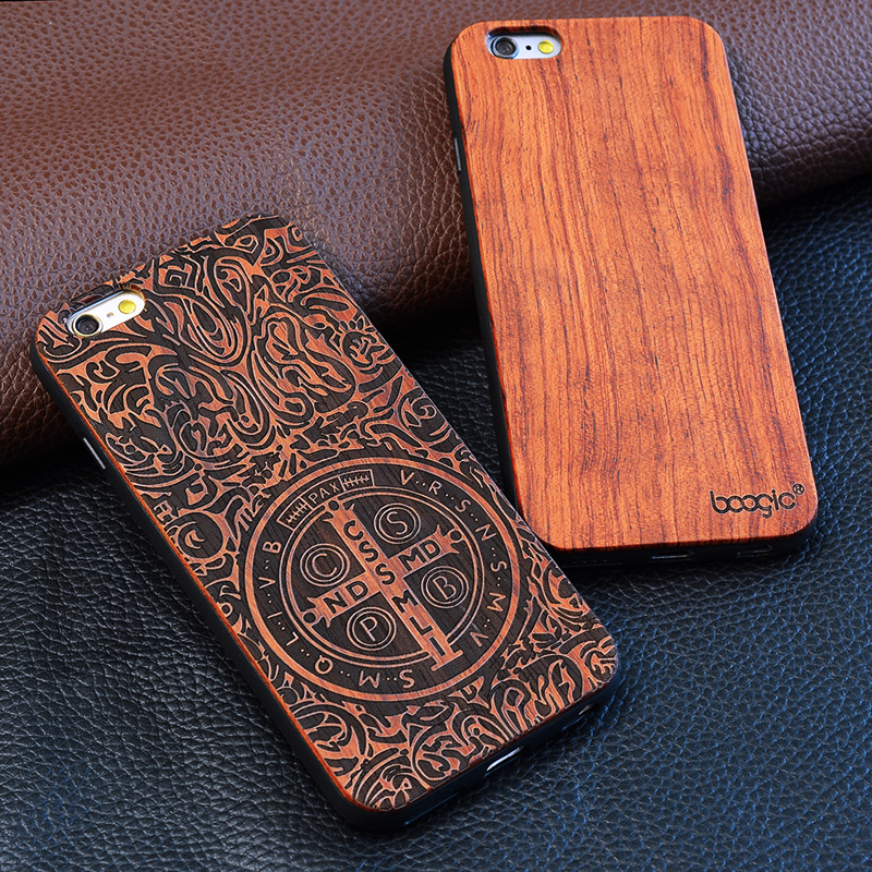 2018 New wood Accessories For Mobile phone For Custom iphone Case For iphone 6 plus Case Wood