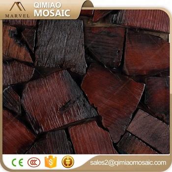 Unebene Oberflache Holz Bleistift Mosaik Fliesen Fur Boden