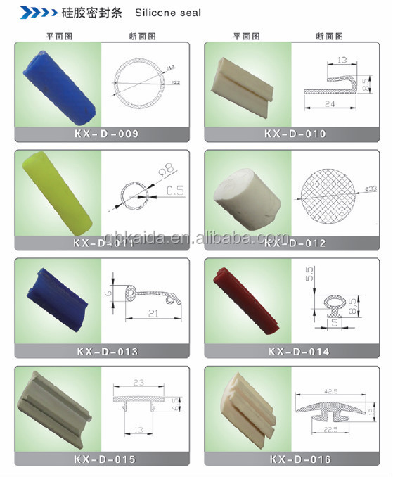Shower Door Rubber Seal Weather Strip For Gl