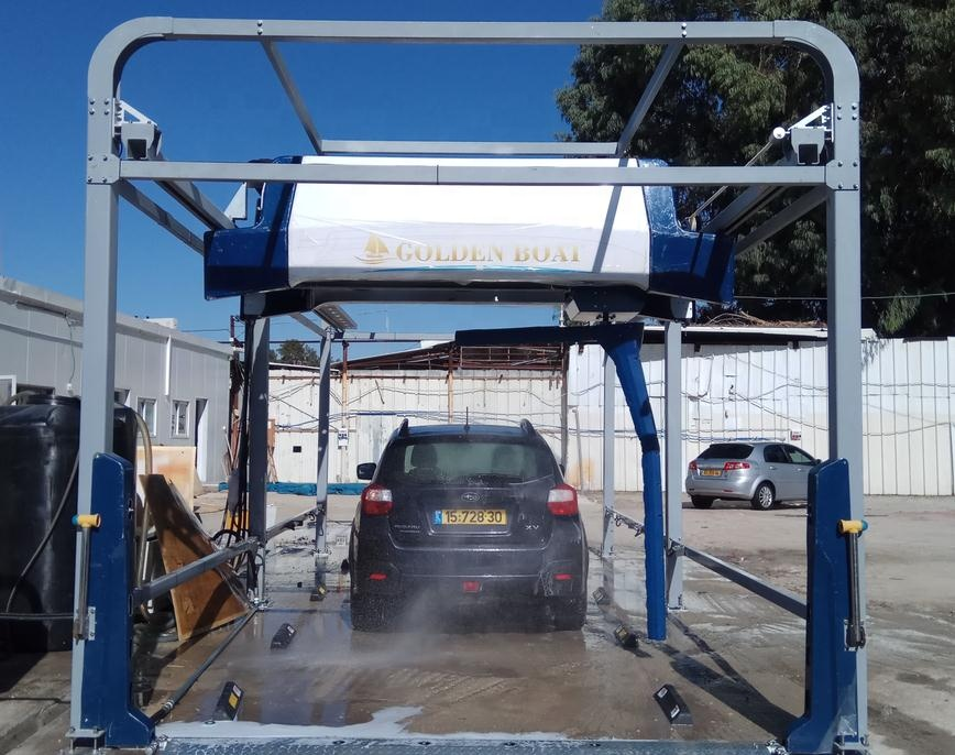 Touchless Car Wash Machine Fully Automatical 360 Degree Washing Cleaning -  Buy Auto Car Wash Machine,Kuwait Steam Car Wash Machine,Waterless Car Wash