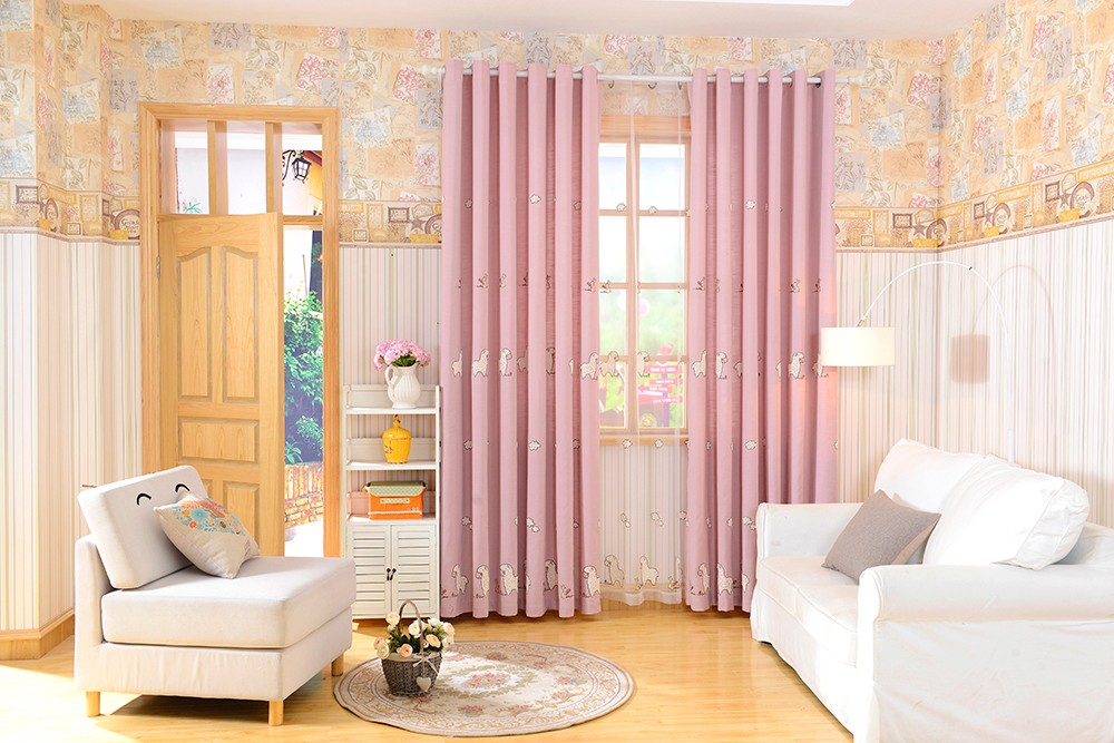 Fashion Cartoon Kids Curtain China Supplier Decor Home