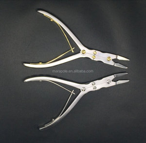 double joint bone rongeur, surgical instrument forceps, orthopedics