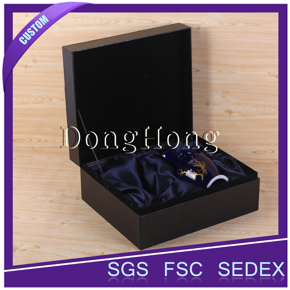 Updated Top design 2 bottle wine gift box manufacturer