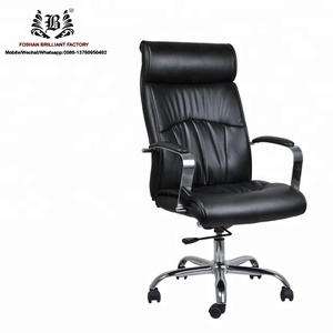 leather glider swivel chairchair 180 degree recliningstudent chair with arm of table chairOffice Chair