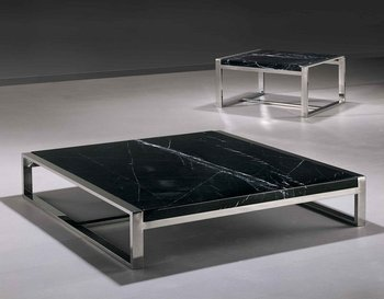 Square And Conner Modern Marble Coffee Table Setct01s Buy