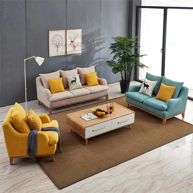 2019 super size home sofa fabric 3 seater for living room