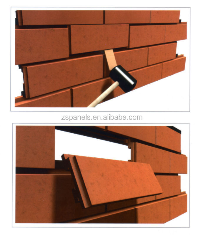 Clinker Building Products : Building wall cladding material clinker brick clay