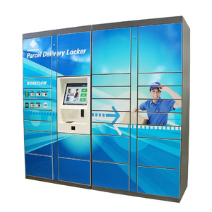 E-commerce Used Multifamily Digital Luggage Parcel Smart Delivery Locker For Sale