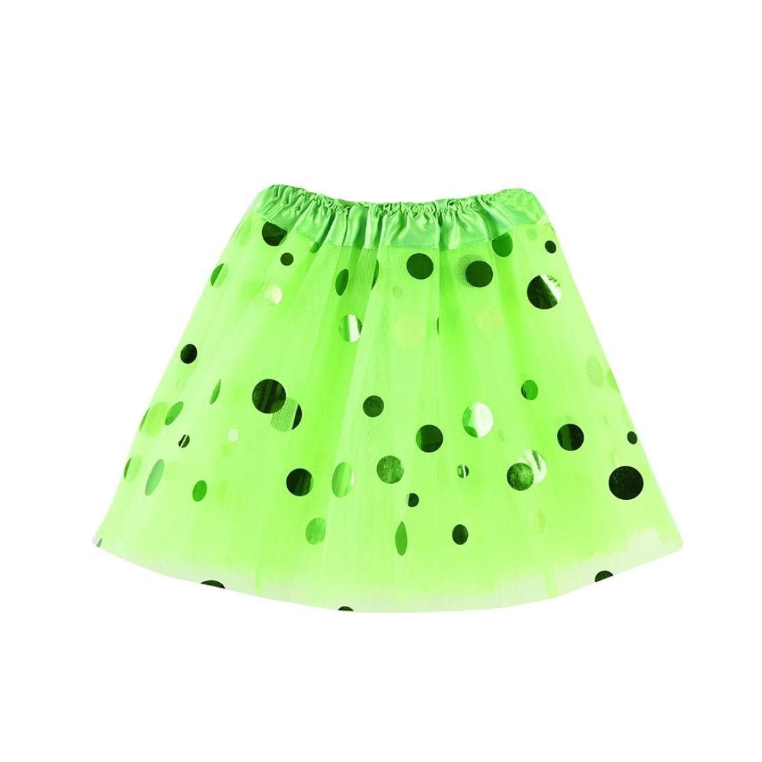 ec4abbba7 Get Quotations · Inkach Baby Tutu Skirt - Toddler Girls Polka Dot Printed Ballet  Skirts Dance Fluffy Tulle Petticoat