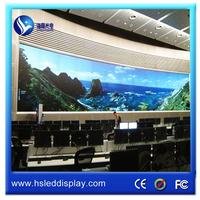 Plastic led display panel for outdoor concert