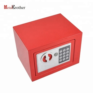 Hot sell colorful metal steel safe box gun safe