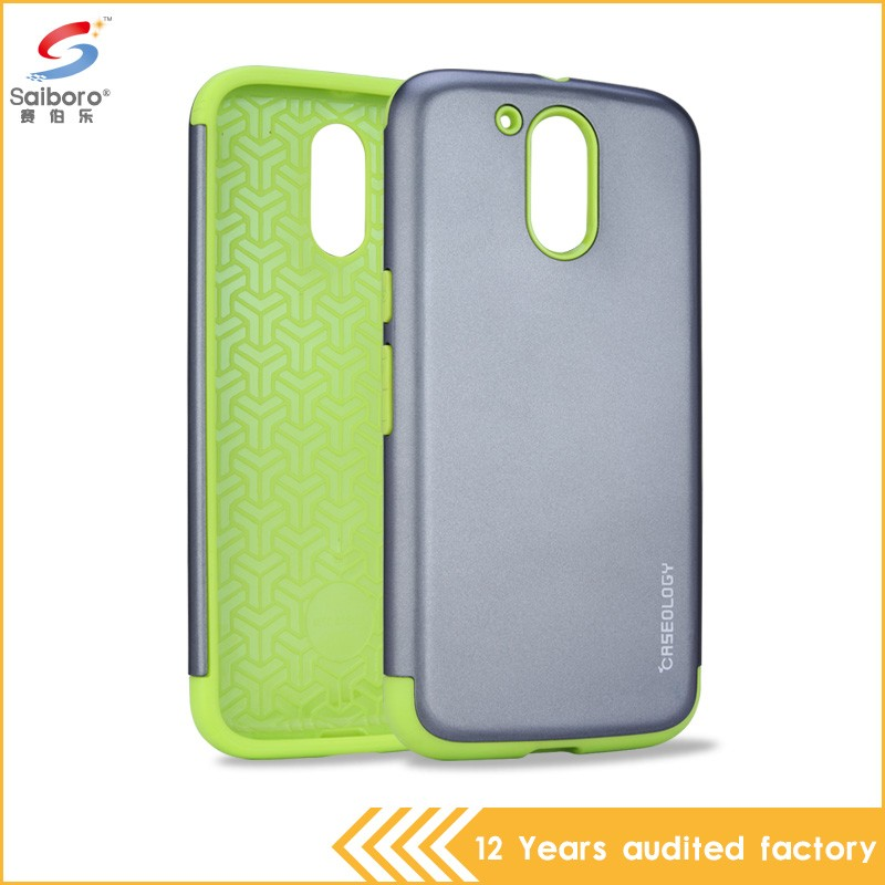 Heavy duty shockproof promotions tpu pc phone case for moto g4 plus
