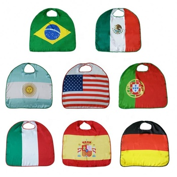 cheap 3*5ft custom national polyester football cup soccer body flags