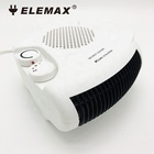 2kw flat mini electric air heater fan portable hot&cool