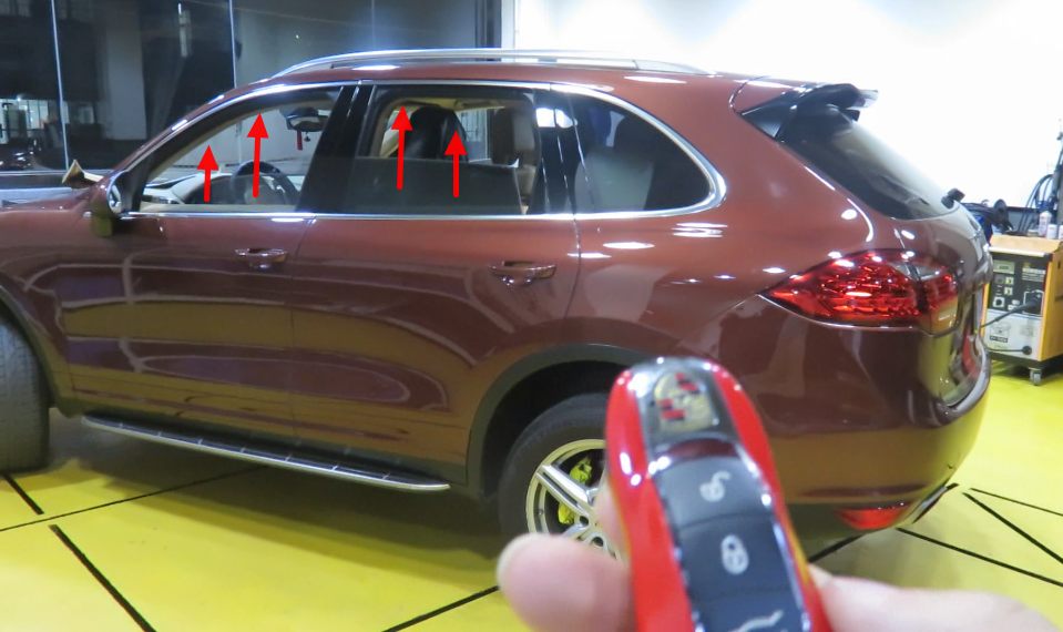 2016 New Auto Power Car Window Closer For 4 Windows Rearview Mirror And Trunk Roll Up For Porsche