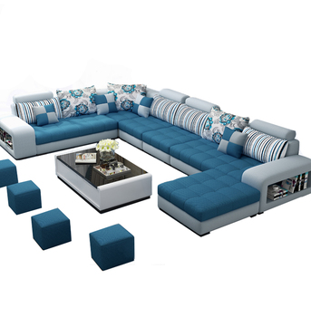 Design Extra Large Big Size C Shaped 5 7 8 9 10 11 12 Seater Sectional