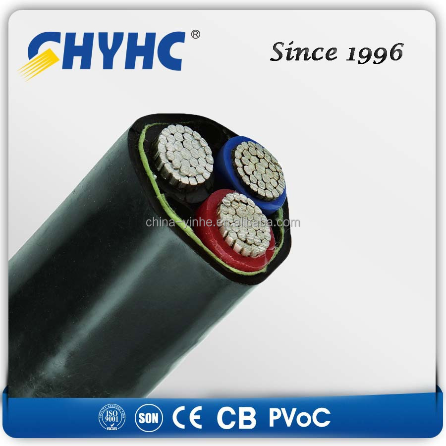Copper Core Xlpe Insulated Pvc Sheathed Swa 4 Core Power Cable 4c X ...