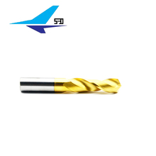 Professional 3/8 long shank solid carbide drill bit with low price