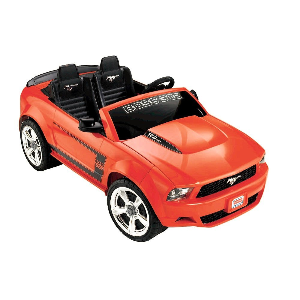 Fisher-Price Power Wheels Ford Mustang, Boss 302