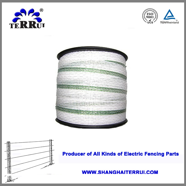 China UV Resistance Professional Electric Fence PE Polytape For Animal Fencing