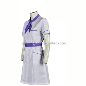 Oem Design Wholesale Hospital Uniform Lab Coat Nurse Uniform Dress