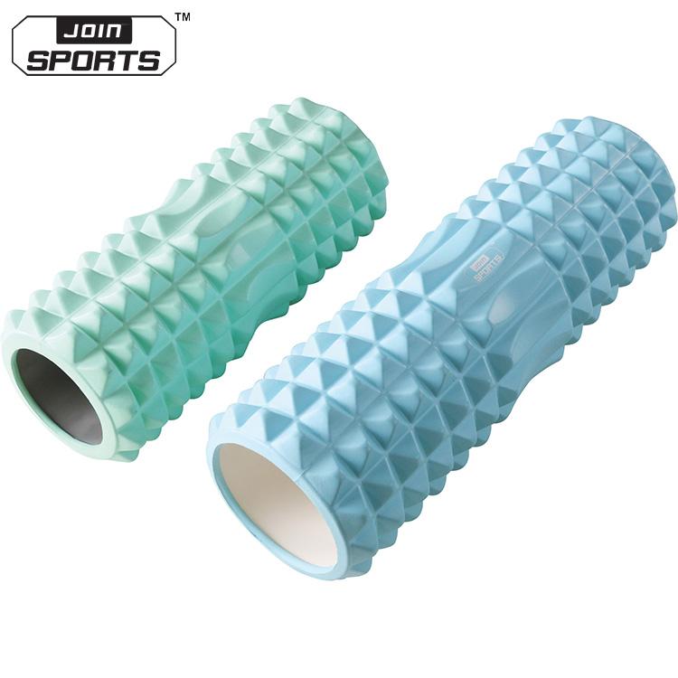 New Design Useful Eva Foam Pvc Pipe Yoga Training High Density Foam Massage  Roller - Buy Foam Roller,Foam Massage Roller,High Density Foam Roller