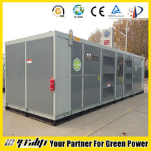 CE approved 1MW natural gas generators set