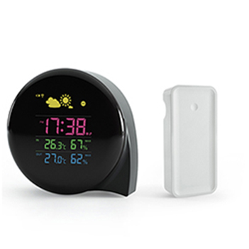 Large lcd display wireless weather station digital thermostat