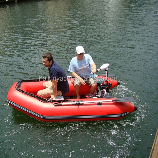 New inflatable aluminum floor dinghy