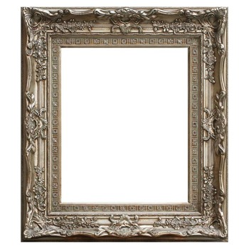 Ornate Gold/silver Museum Frame For Painting - Buy Ornate Wood Frame ...